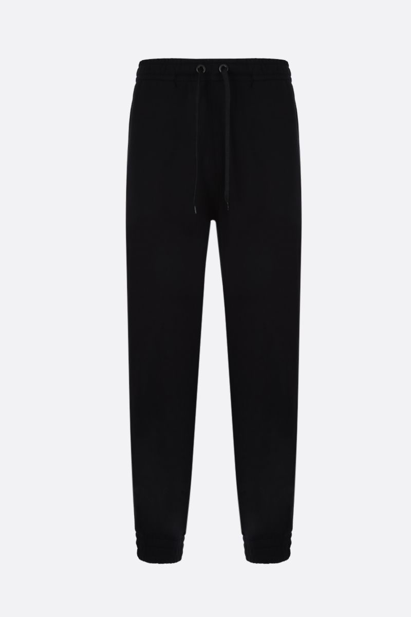 BURBERRY: Tuckford cotton joggers Color Black_1