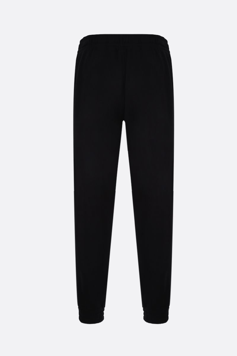 BURBERRY: Tuckford cotton joggers Color Black_2