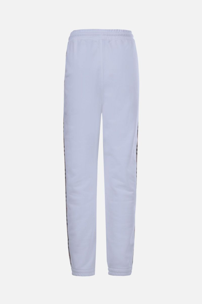 BURBERRY: Raine cotton joggers Color White_2