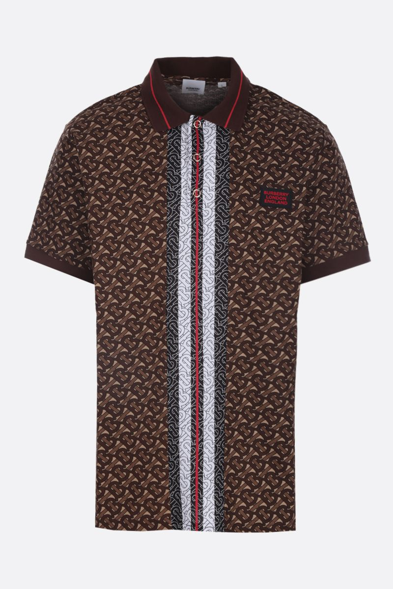 BURBERRY: polo Marley in piquet_1