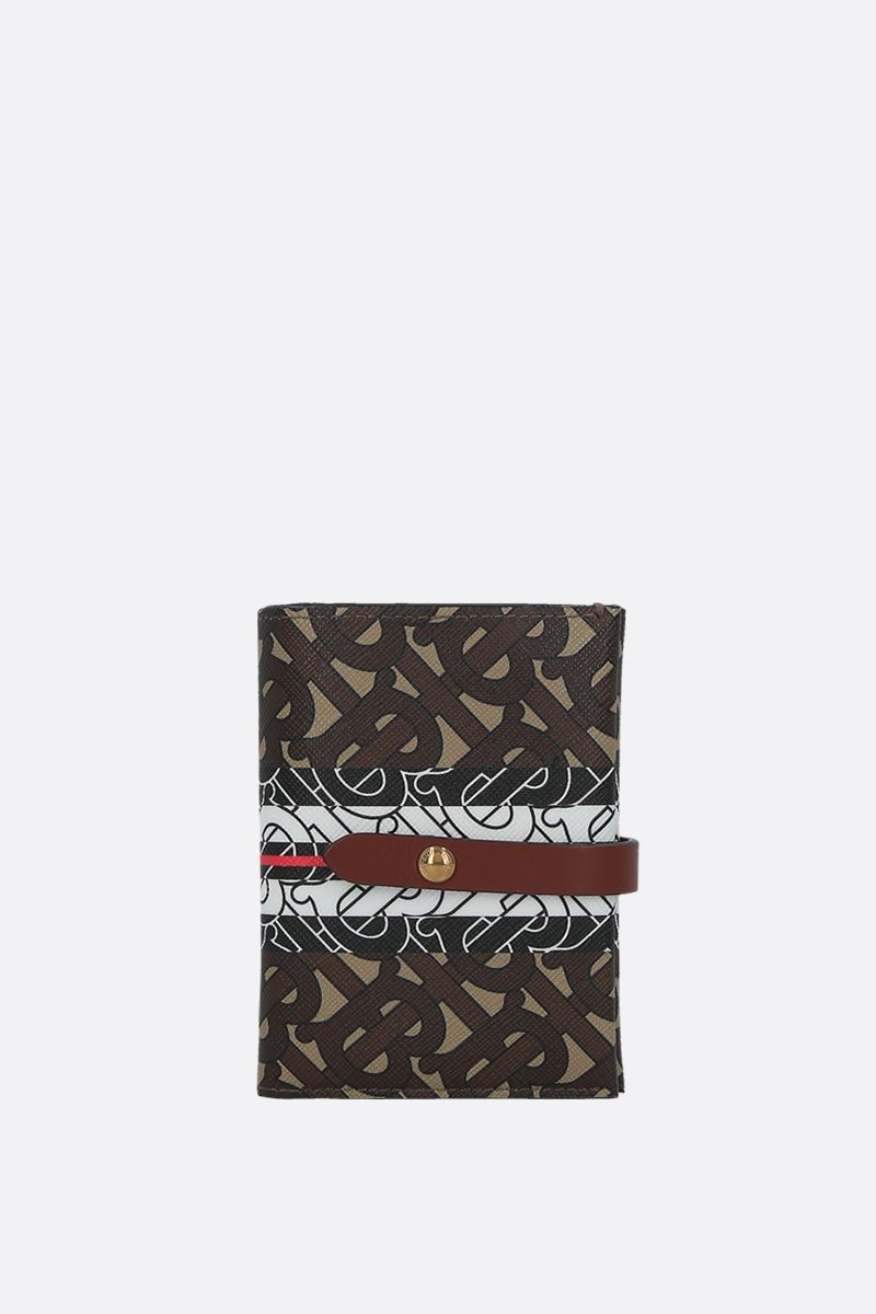 BURBERRY: Vivian coated canvas wallet_1