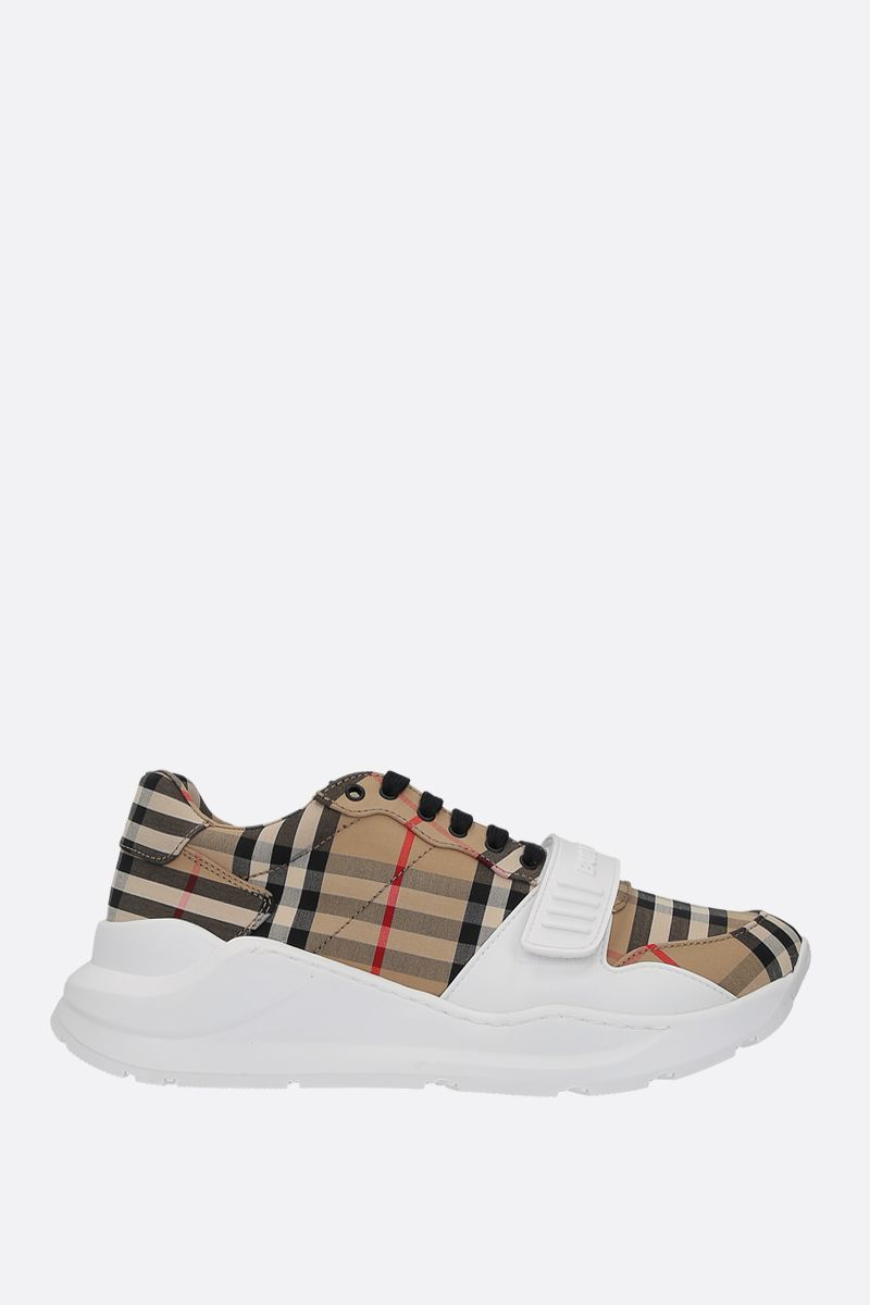 BURBERRY: sneaker Regis in canvas Vintage check_1