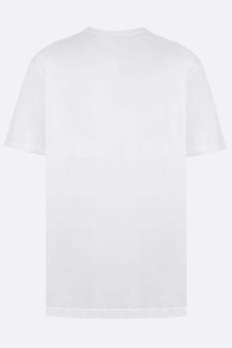 BURBERRY: Shotover cotton t-shirt Color White_2
