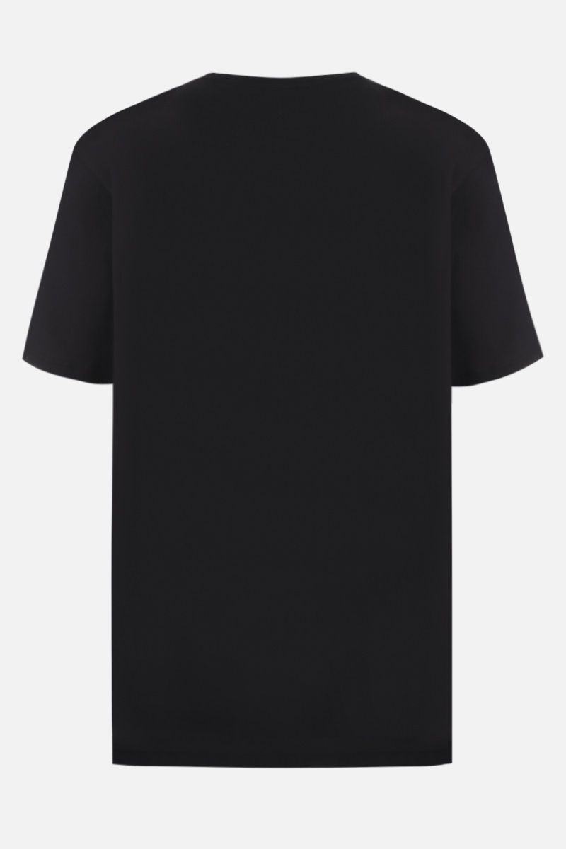 BURBERRY: Shotover cotton t-shirt Color Black_2
