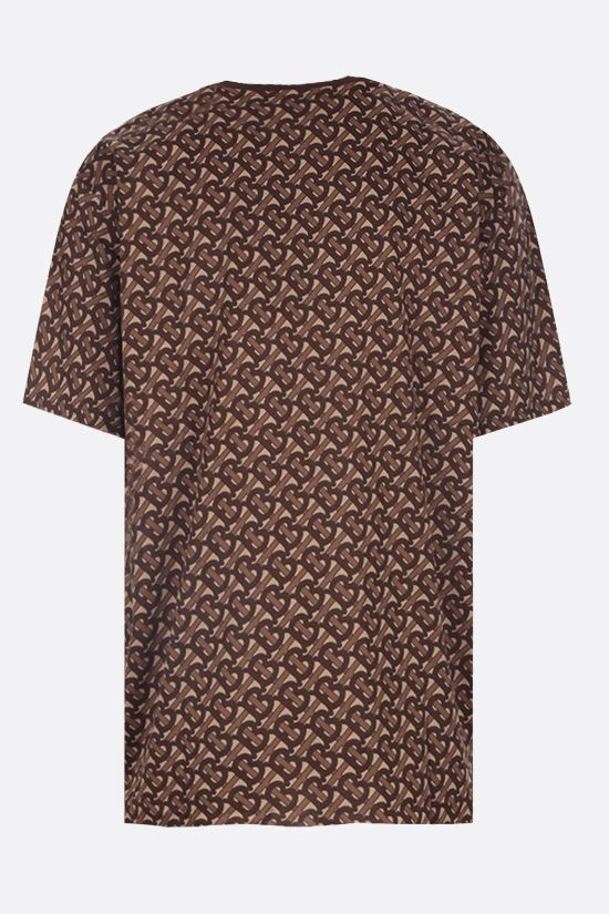 BURBERRY: Munley cotton t-shirt Color Brown_2