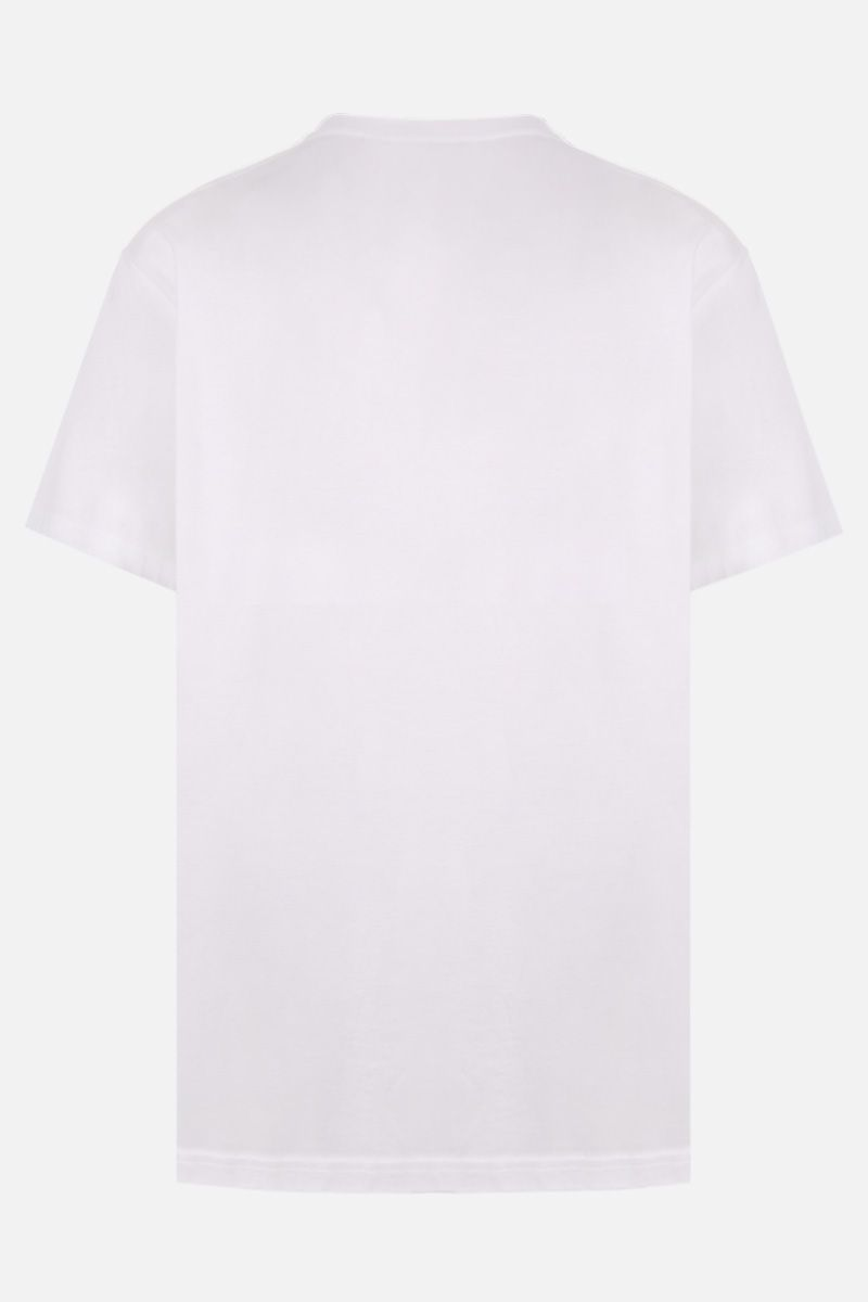BURBERRY: Ganther cotton oversize t-shirt Color White_2