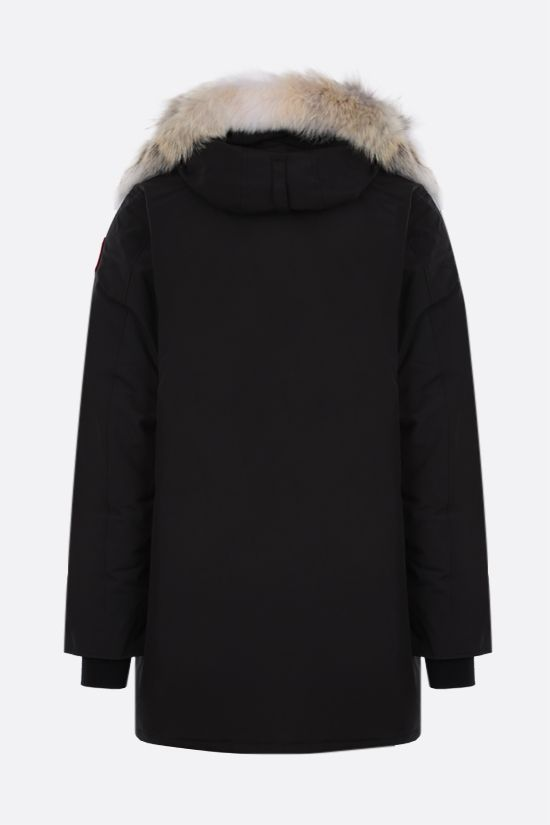 CANADA GOOSE: Langford technical canvas padded parka coat Color Black_2