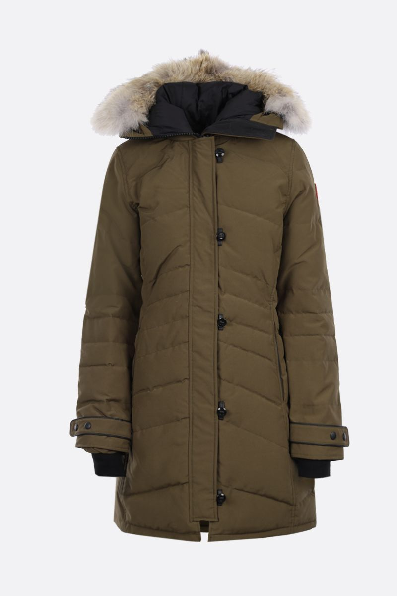 CANADA GOOSE: Loretta technical canvas padded parka coat_1