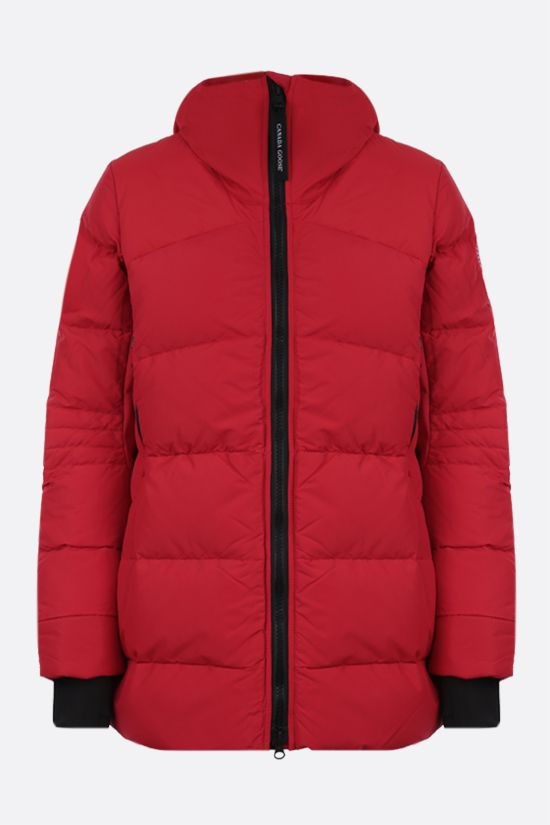 CANADA GOOSE: Hybridge technical canvas padded parka coat Color Red_1