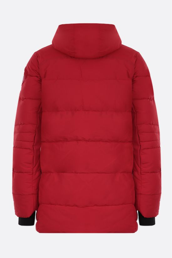 CANADA GOOSE: Hybridge technical canvas padded parka coat Color Red_2