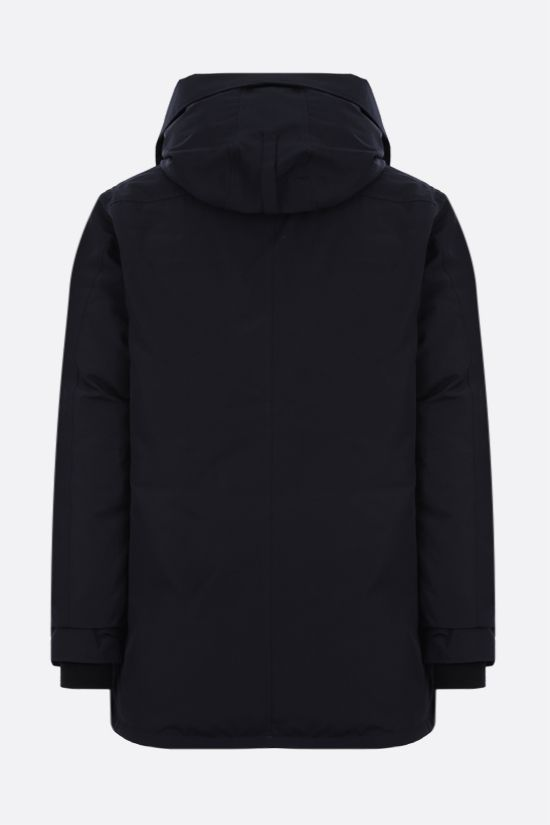 CANADA GOOSE: Chateau technical canvas padded parka coat Color Blue_2