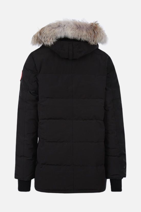 CANADA GOOSE: Carson technical canvas padded parka coat Color Black_2