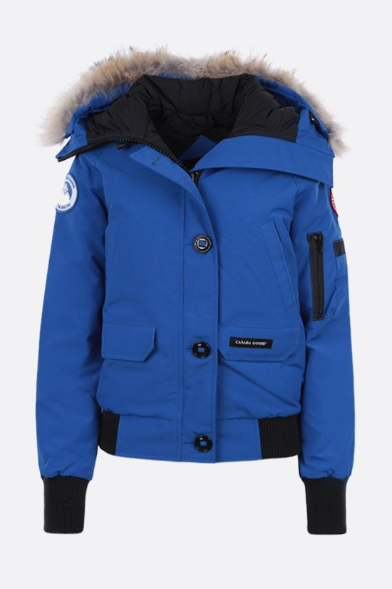 CANADA GOOSE: Chilliwack technical canvas padded bomber jacket_1