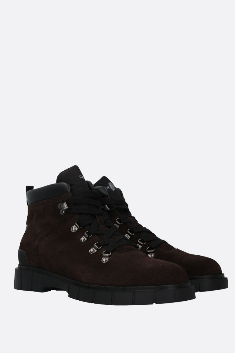 CAR SHOE: velvet suede hiking boots Color Brown_2