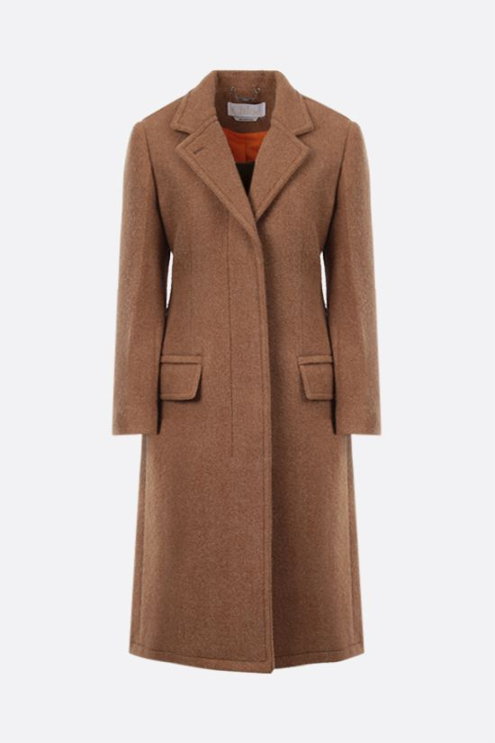 CHLOÈ: single-breasted wool coat Color Neutral_1
