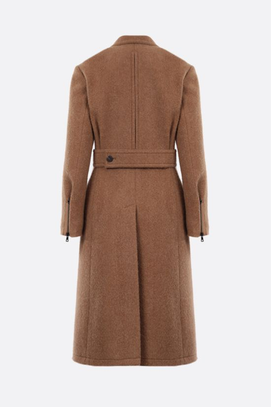 CHLOÈ: single-breasted wool coat Color Neutral_2