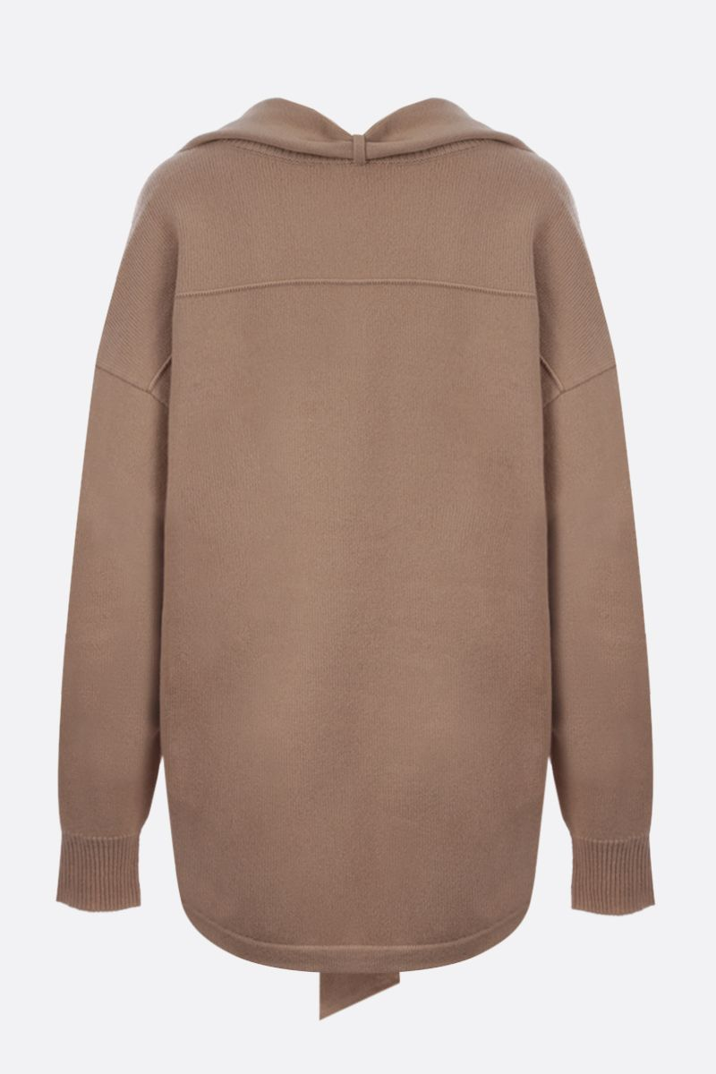 CHLOÈ: C embroidered cashmere pullover Color Neutral_2