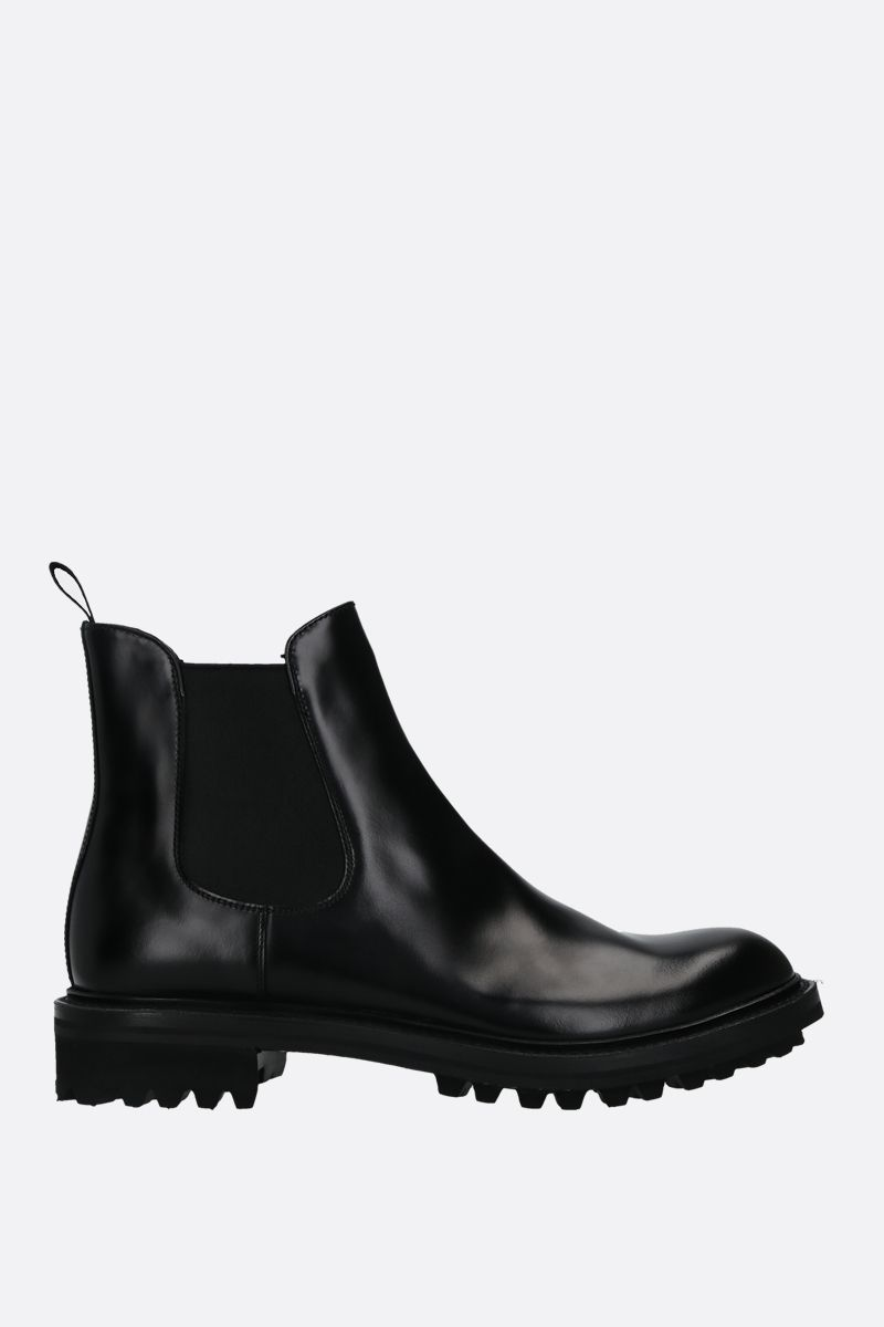 CHURCH'S: Genie chelsea boots in Rois leather Color Black_1