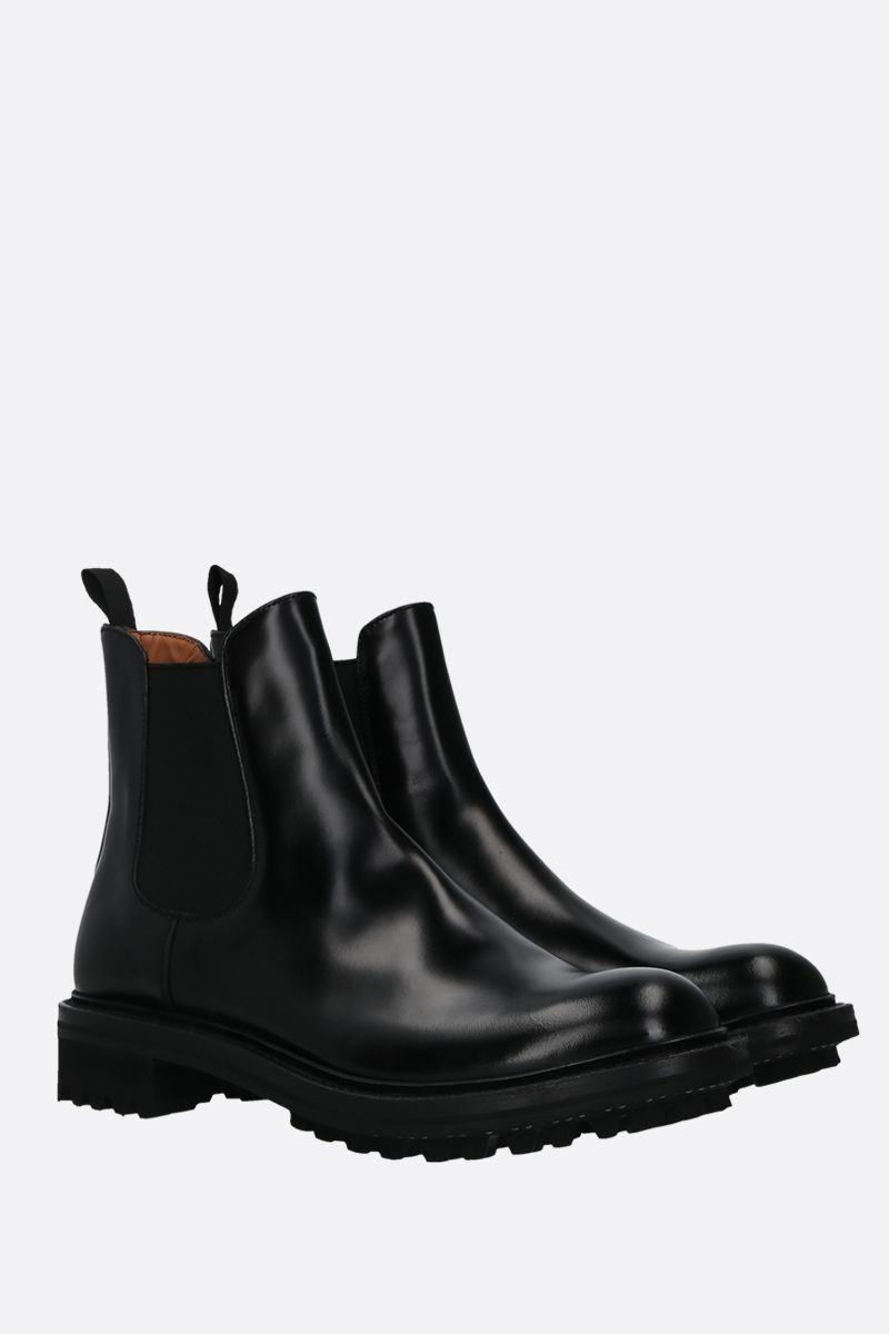CHURCH'S: Genie chelsea boots in Rois leather Color Black_2