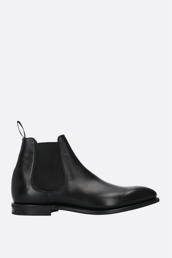 CHURCH'S: Prenton smooth leather chelsea boots Color Black_1