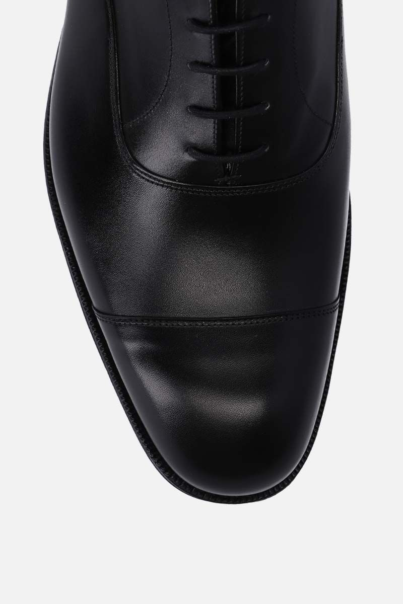 CHURCH'S: Consul 173 brushed leather oxford shoes Color Black_4