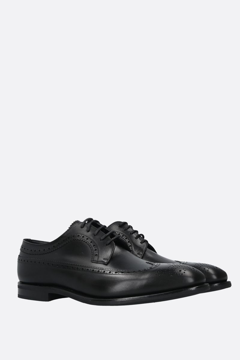 CHURCH'S: Portmore smooth leather derby shoes Color Black_2