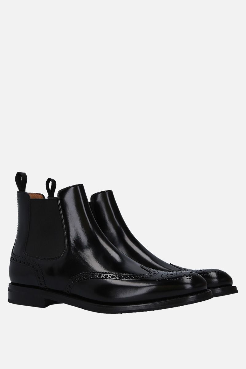 CHURCH'S: Ketsbyin brushed calf chelsea boots Color Black_2
