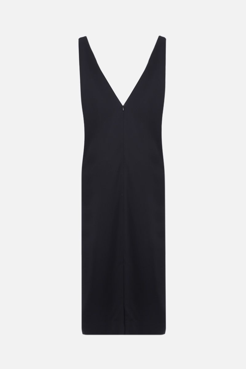 CO: stretch crepe sleeveless dress Color Black_2