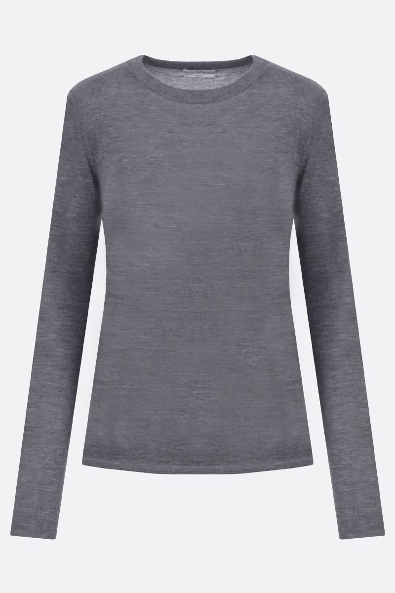 CO: lightweight cashmere pullover Color Grey_1