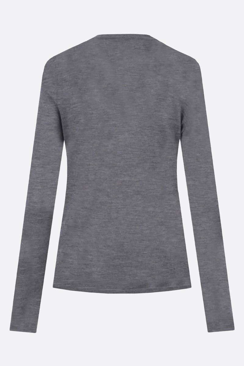 CO: lightweight cashmere pullover Color Grey_2