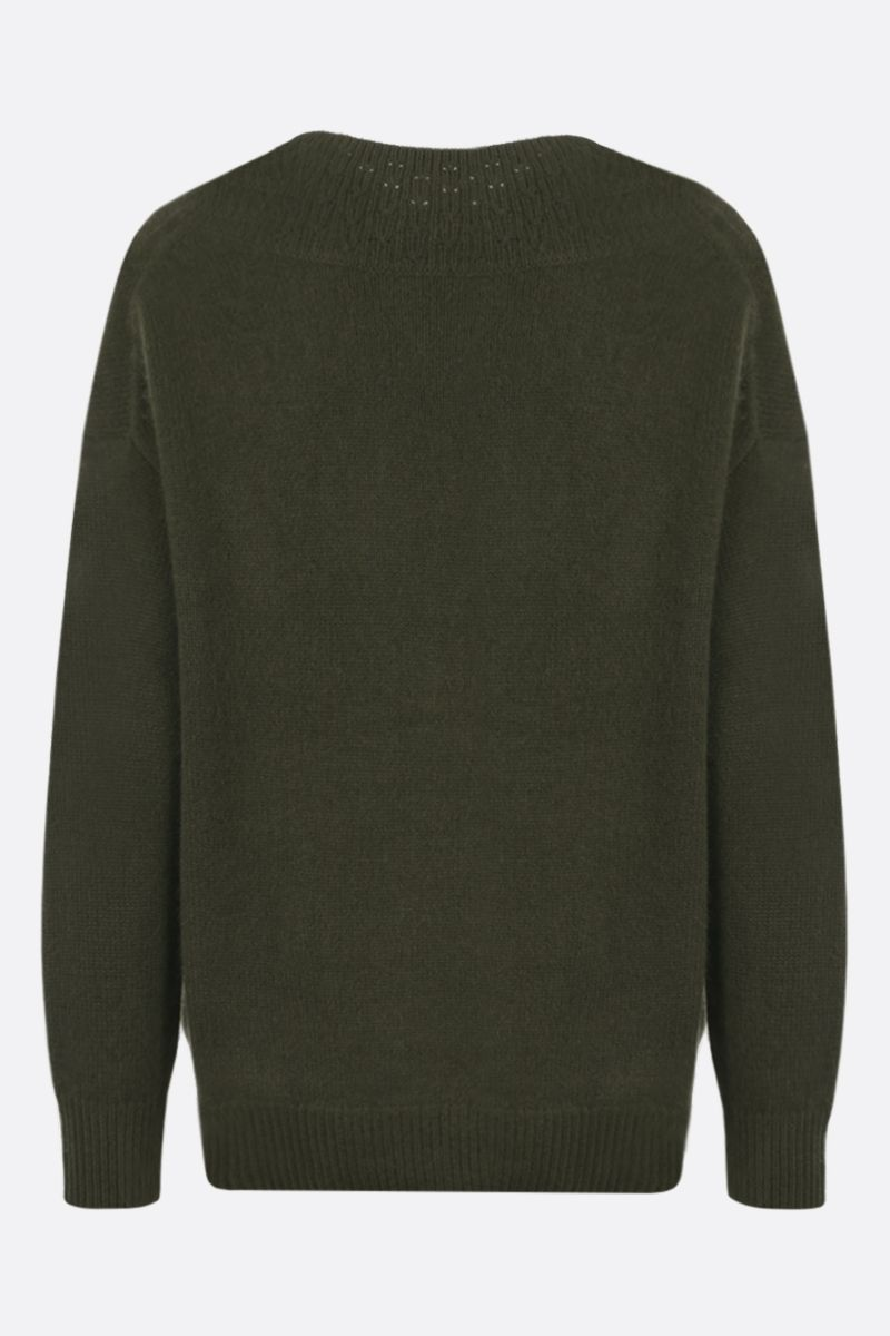 CO: pure cashmere pullover Color Green_2