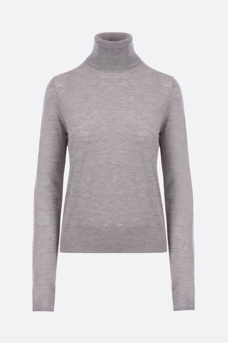 CO: lightweight cashmere turtleneck Color Grey_1