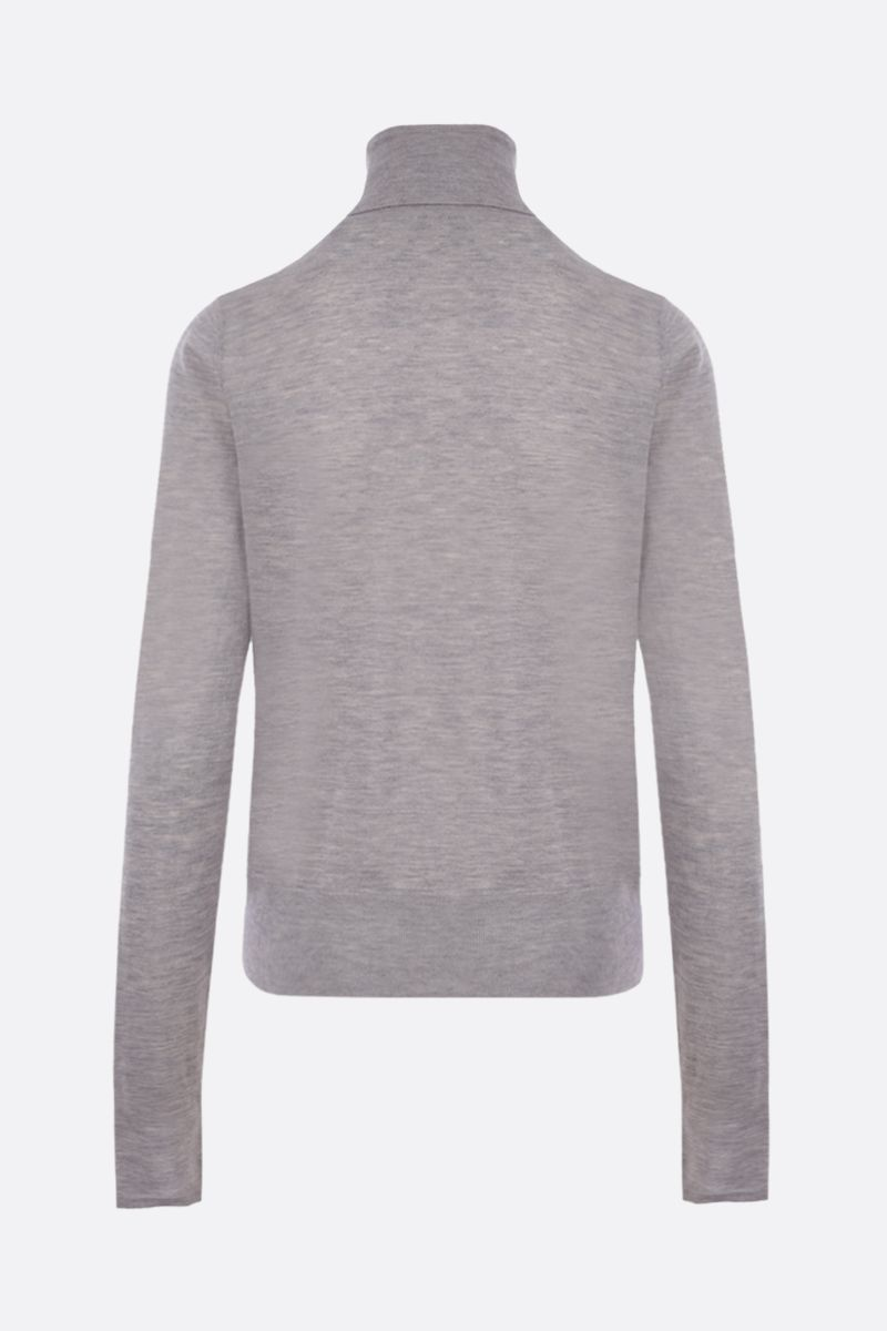 CO: lightweight cashmere turtleneck Color Grey_2