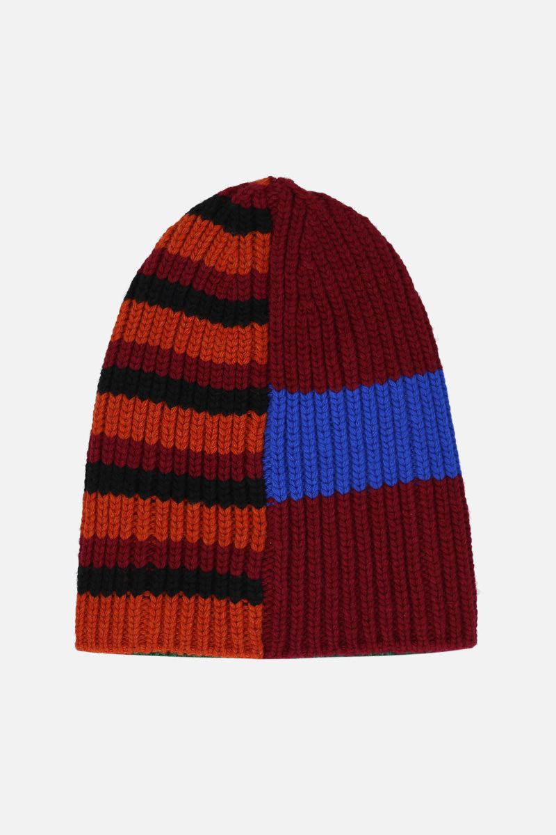 COLVILLE: striped wool knit beanie Color Multicolor_1