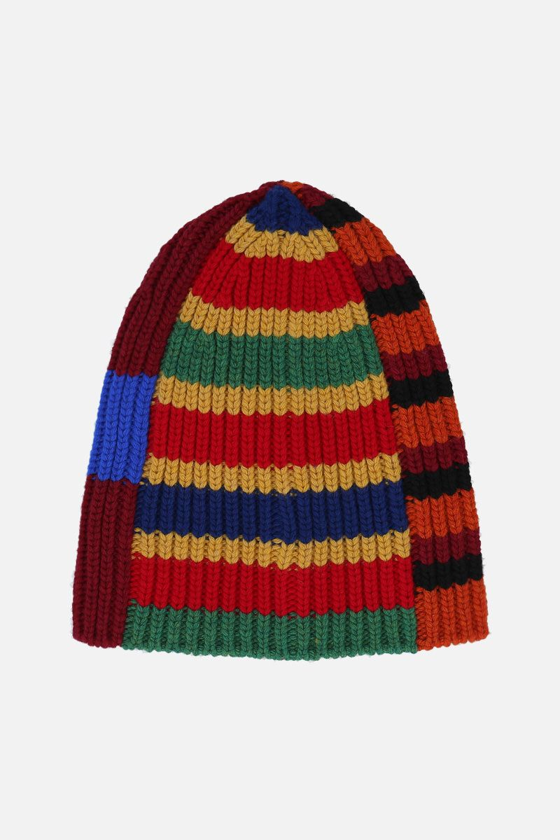 COLVILLE: striped wool knit beanie Color Multicolor_2