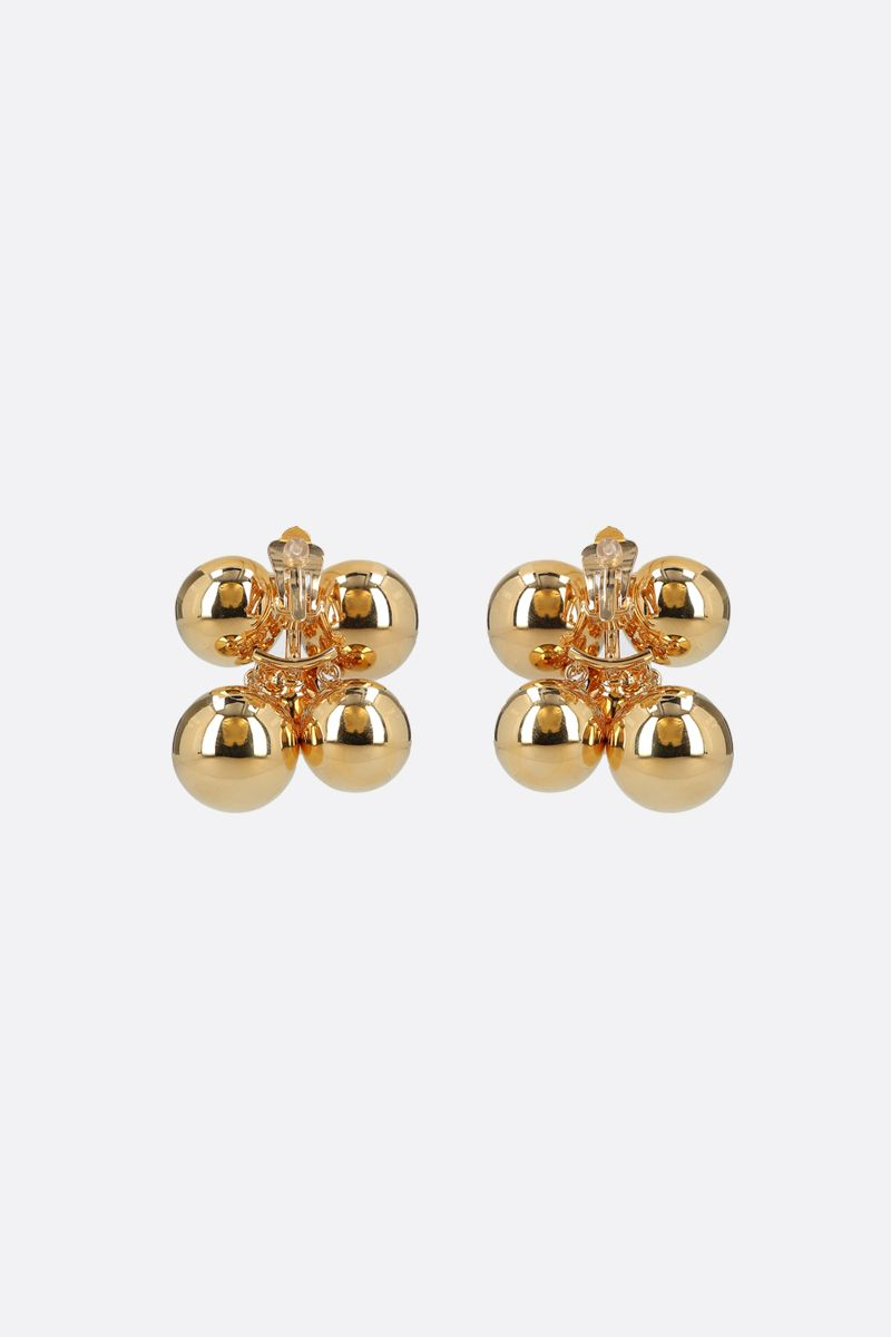 COLVILLE: crystal-embellished metal earrings Color Gold_2