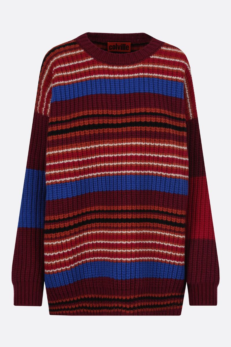COLVILLE: striped wool pullover Color Multicolor_1