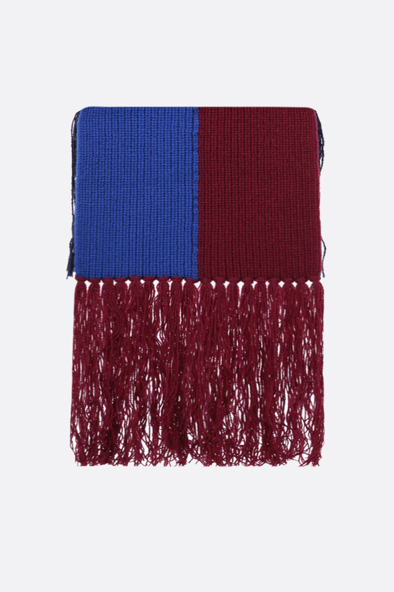 COLVILLE: striped wool scarf Color Multicolor_1