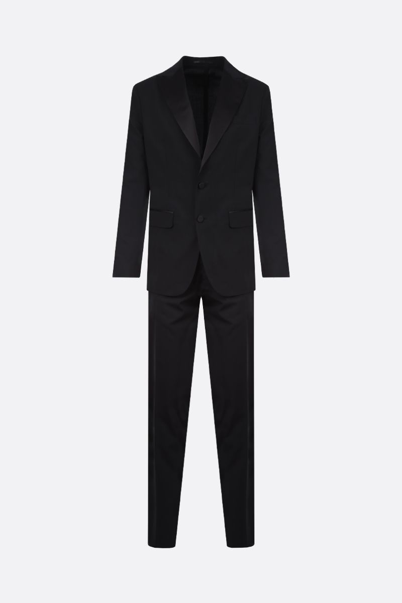 DSQUARED2: Miami stretch wool two-piece suit Color Black_1