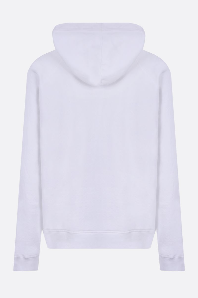 DSQUARED2: Love Is print cotton hoodie Color White_2