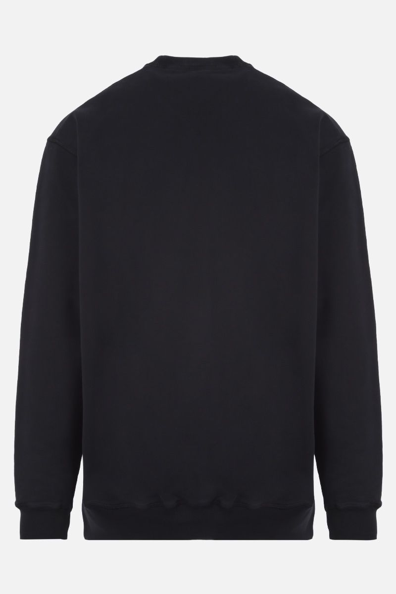 DSQUARED2: Dsquared2 print cotton sweatshirt Color Black_2
