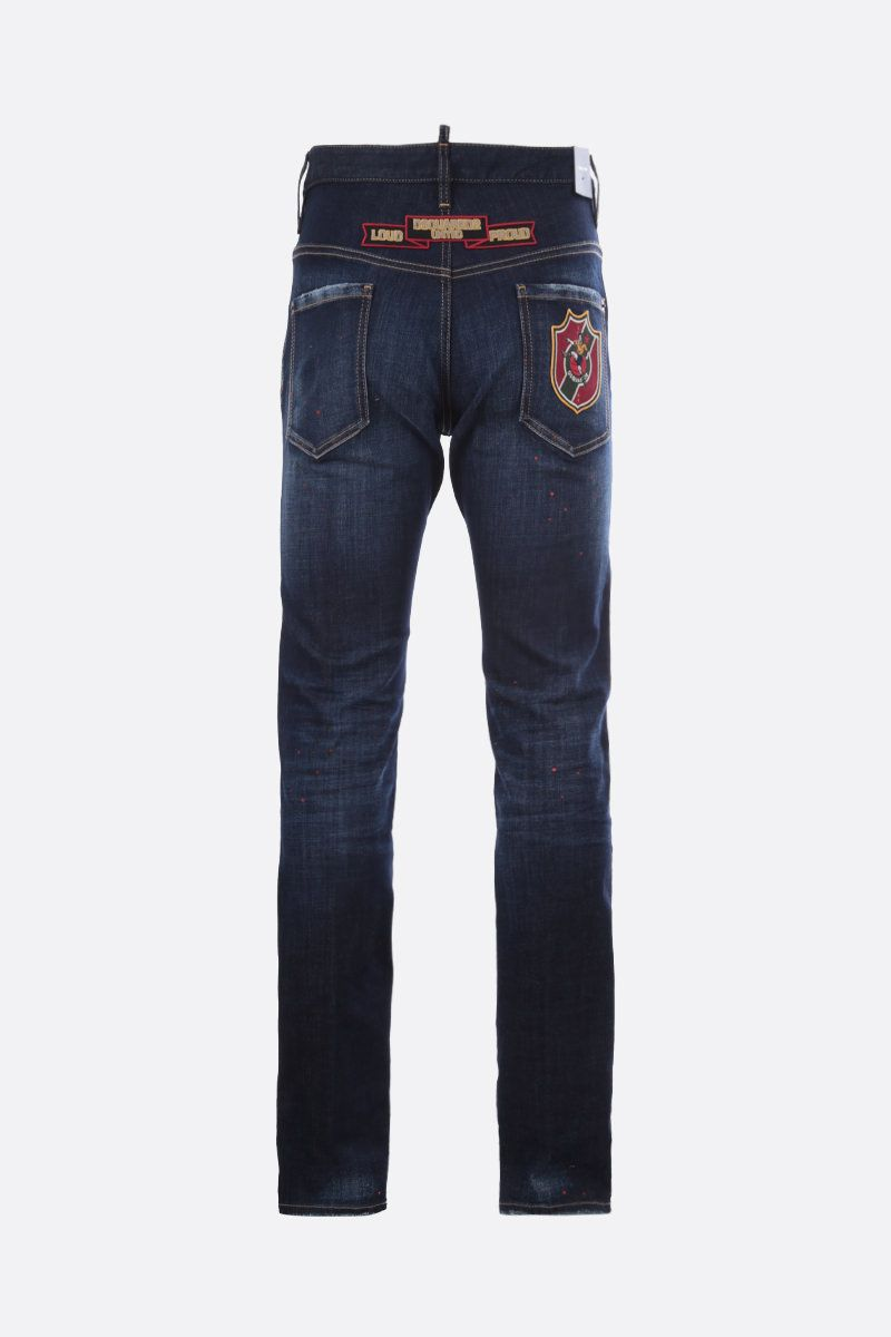 DSQUARED2: jeans Cool Guy con patch_2
