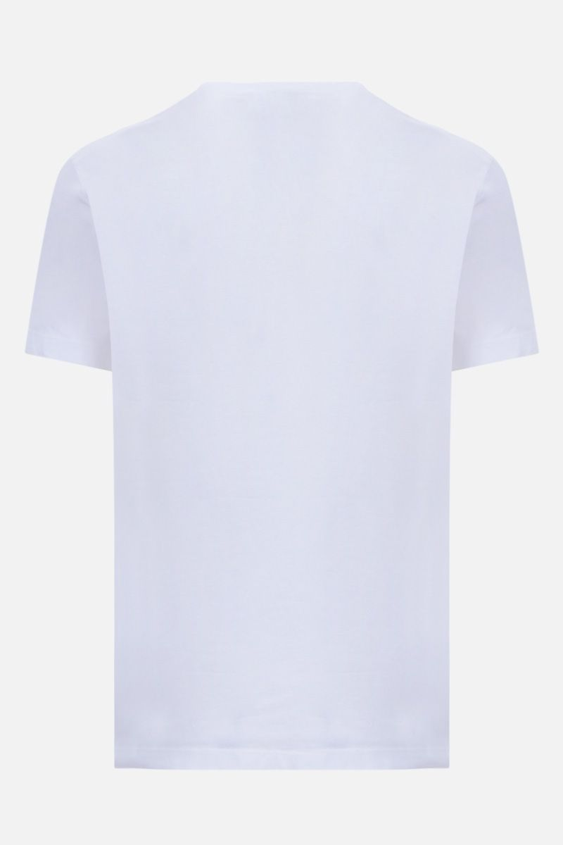 DSQUARED2: Cowboys Heaven print cotton t-shirt Color White_2