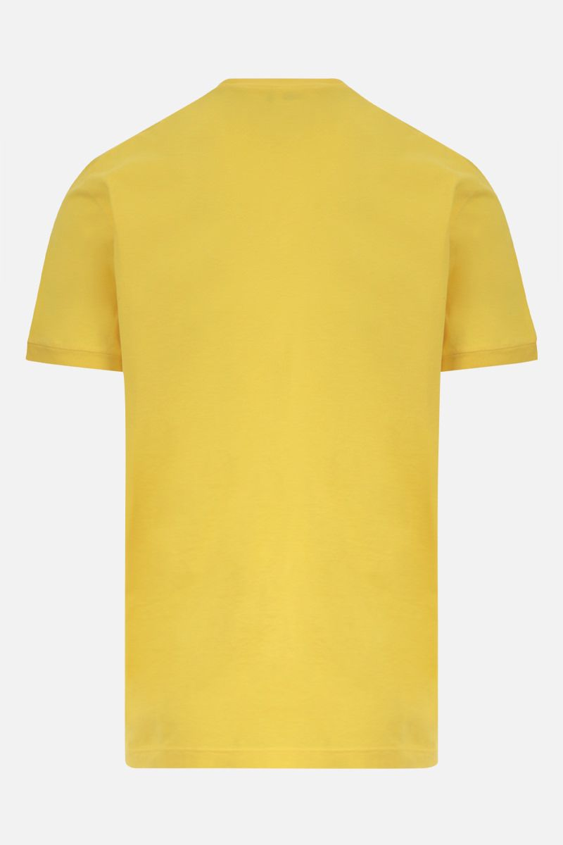 DSQUARED2: Dsquared2 1964 print cotton t-shirt Color Yellow_2