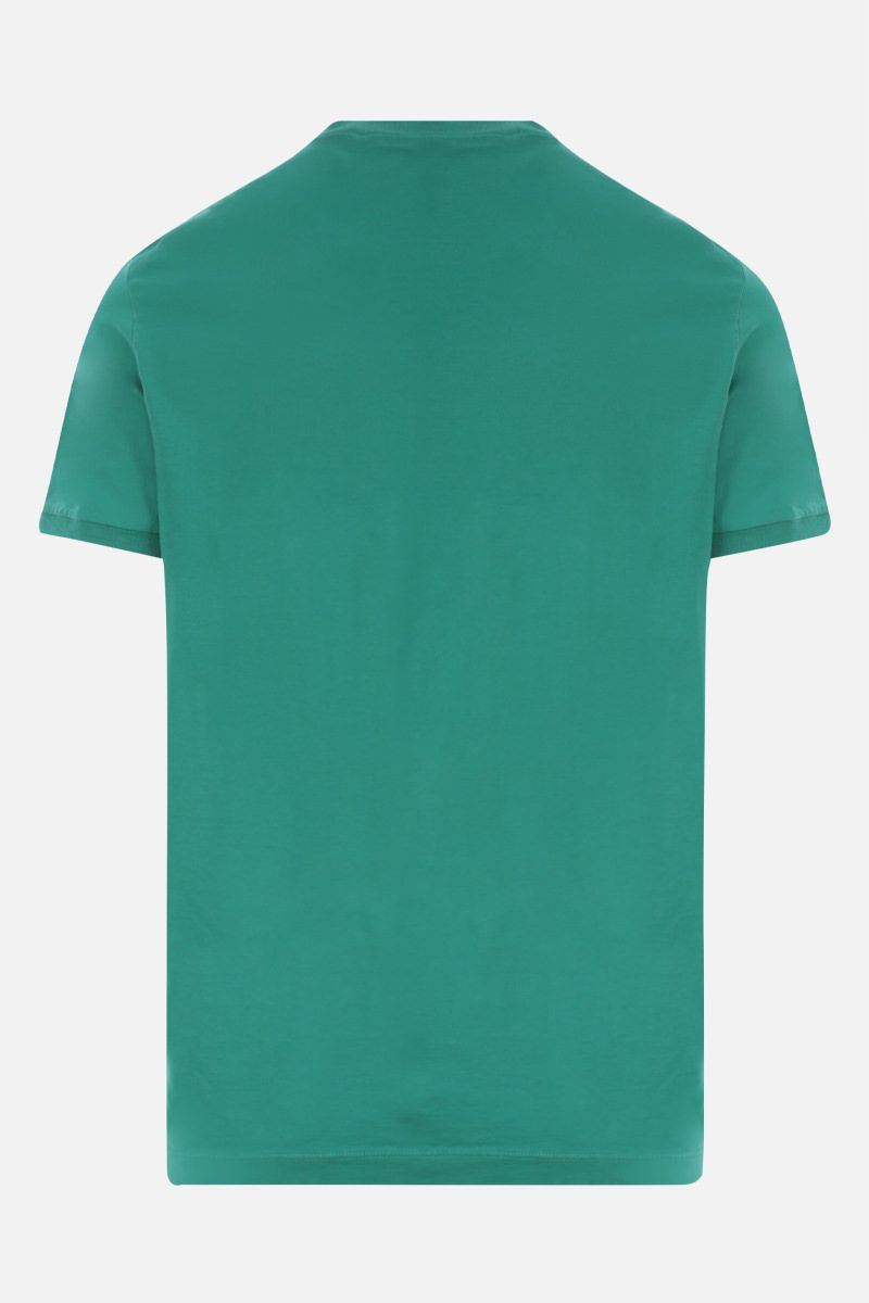 DSQUARED2: Dsquared2 1964 print cotton t-shirt Color Green_2