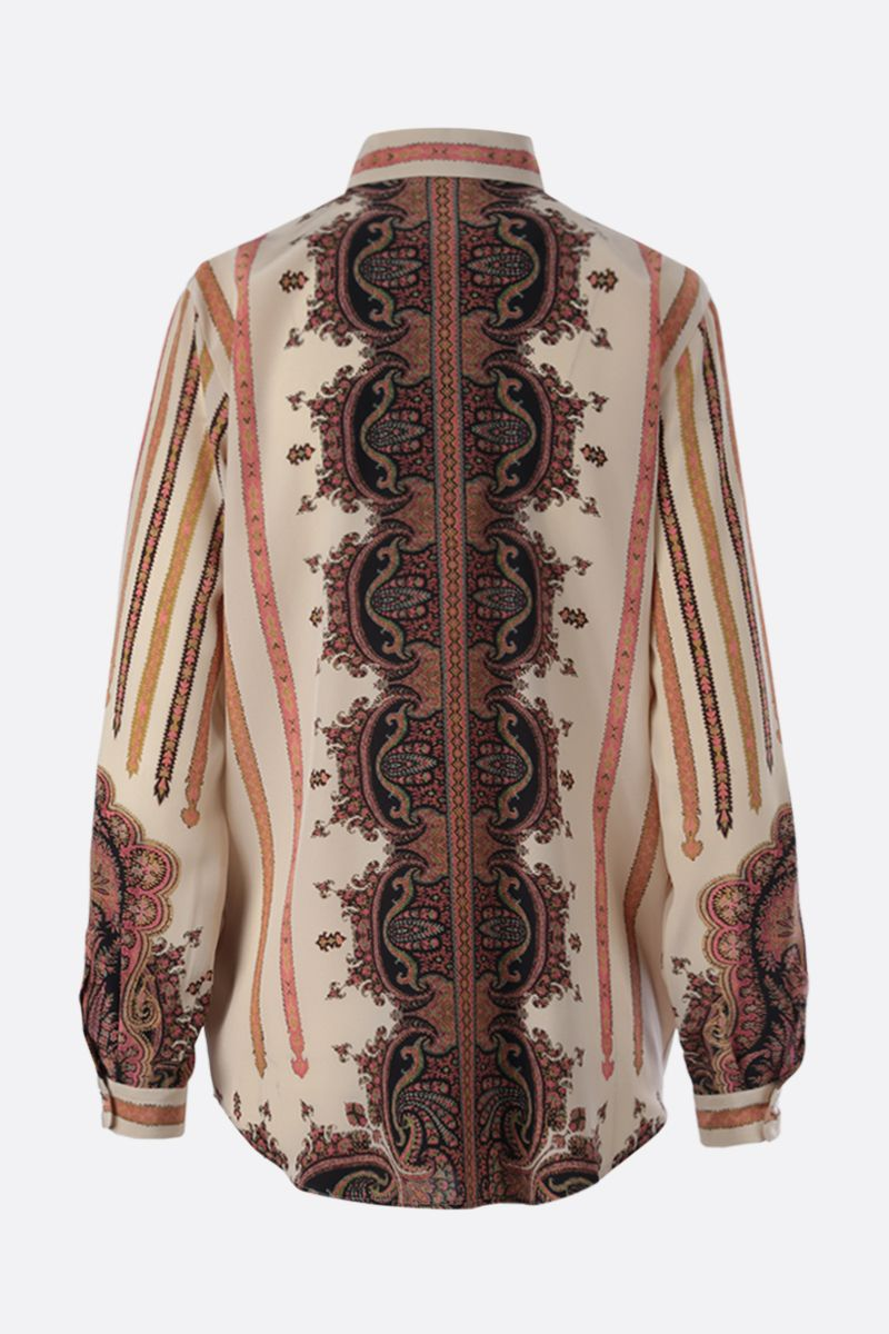 ETRO: Paisley print silk shirt Color Multicolor_2