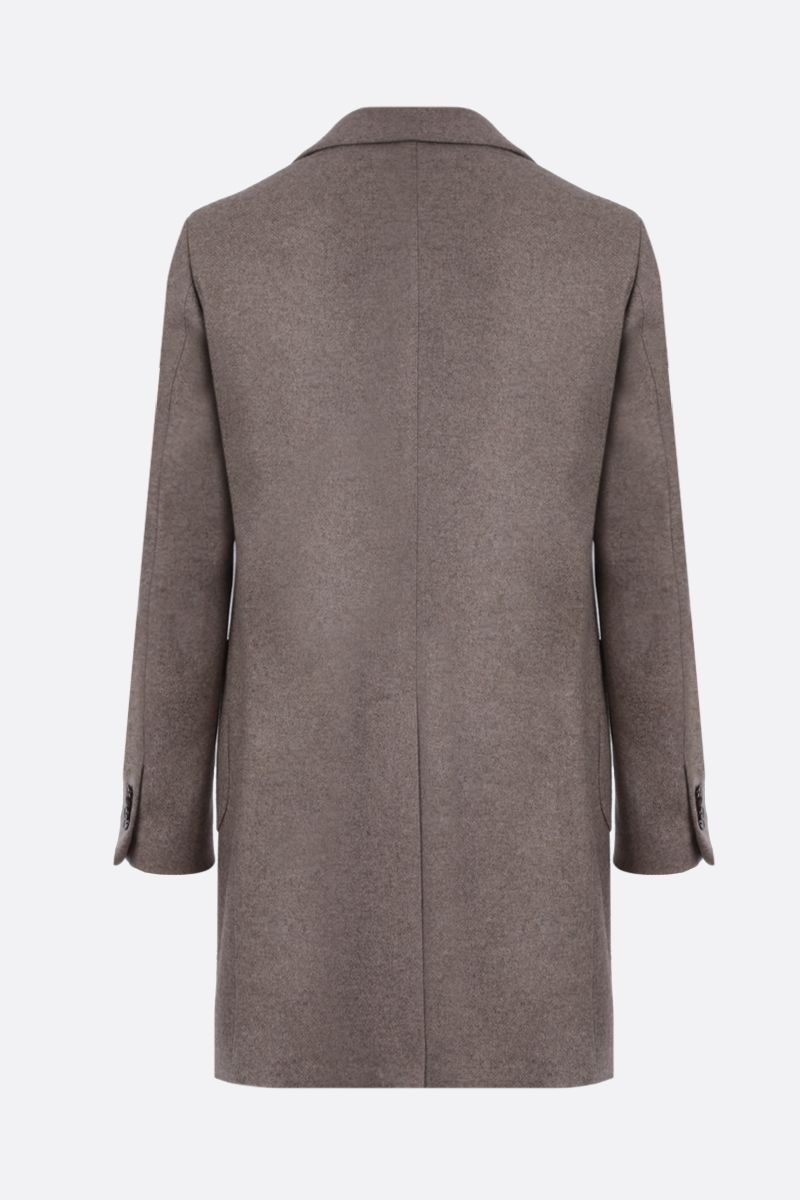 ETRO: yack single-breasted coat Color Neutral_2