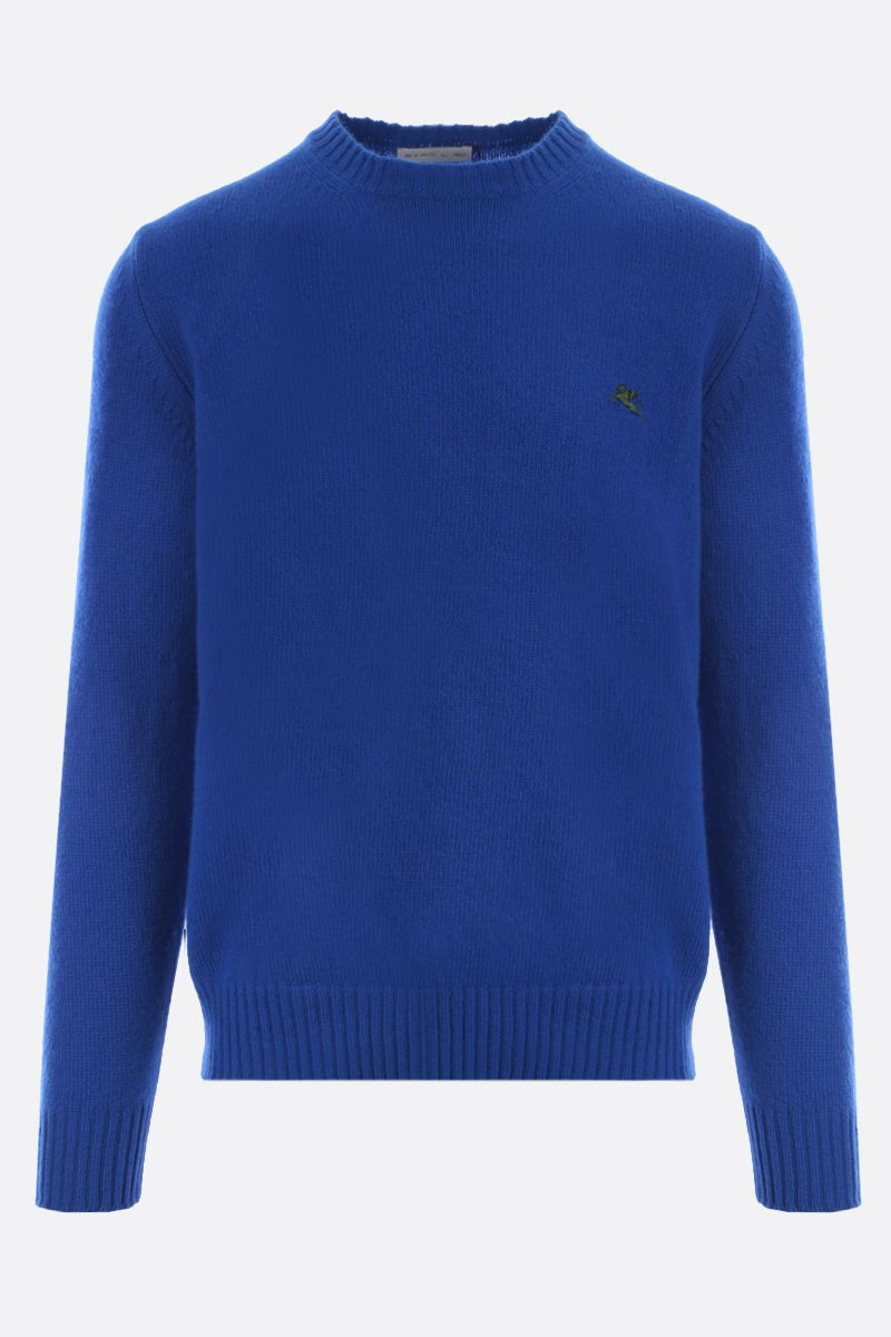 ETRO: Pegaso embroidered wool pullover_1