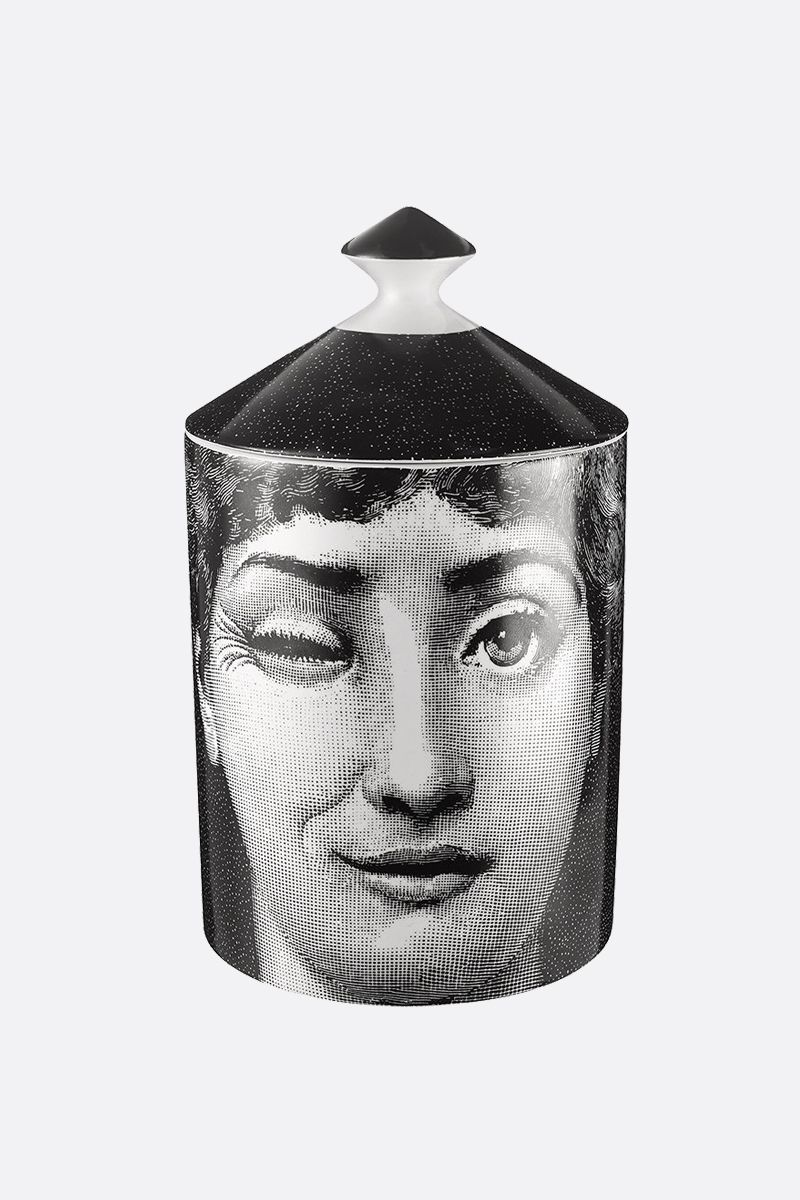 FORNASETTI: Antipatico scented candle Color White_2