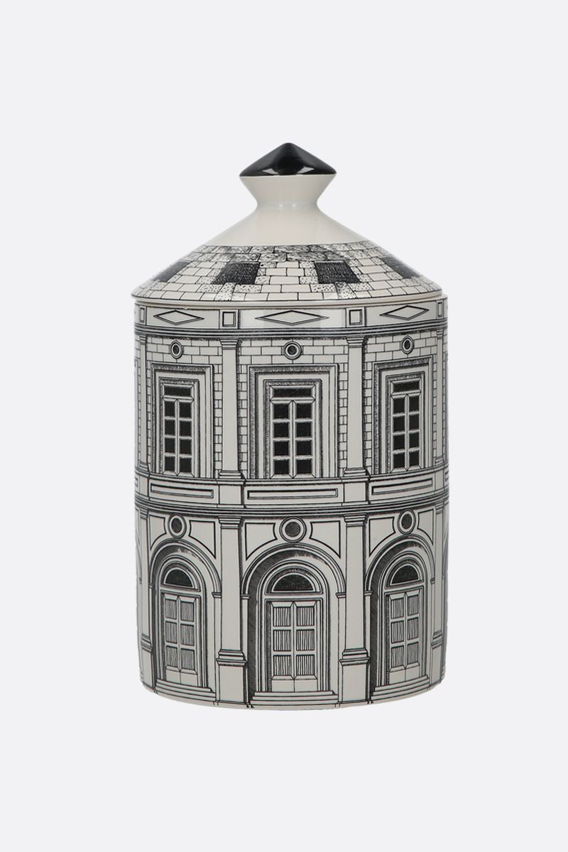FORNASETTI: Palazzo scented candle Color White